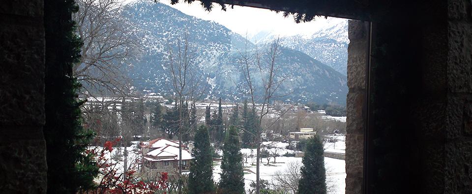 Το βουνό είναι ο ιδανικός χειμερινός προορισμός.